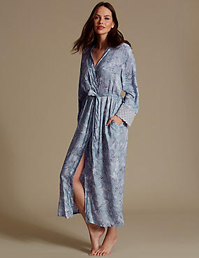 Pure Modal Printed Dressing Gown
