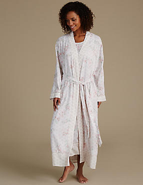 Pure Modal Woven Printed Dressing Gown