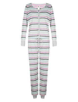Cotton Rich Striped Onesie Clothing