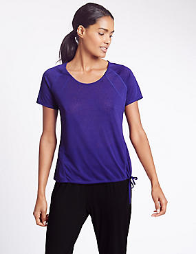 Relaxed Fit Bubble T-Shirt
