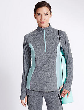 Performance Marl Running Top