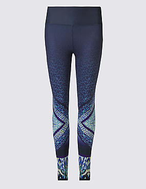 Performance Triangle Print Leggings