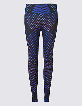Performance Line Print Leggings