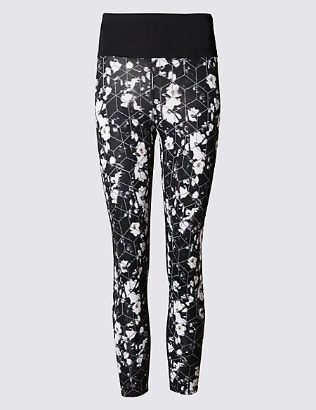 Winter Floral Leggings with Cool Comfort™ Technology
