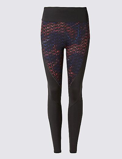sculpt track print leggings mamps