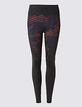 Sculpt Track Print Leggings