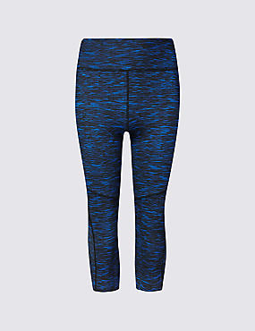 Performance Textured Cropped Leggings