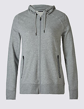 PLUS Sporty Hooded Sweatshirt