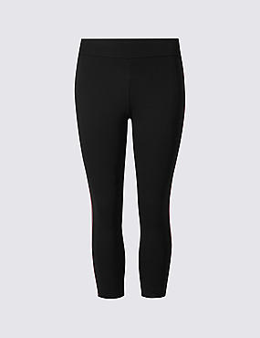 Cotton Rich Cropped Leggings with Cool Comfort™ Technology