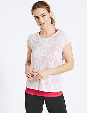 Double Layer T-Shirt with Cool Comfort™ Technology