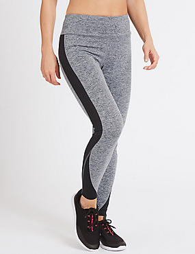 Quick Dry Colour Block Leggings