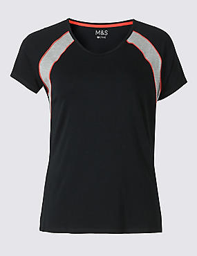 PLUS Active Cotton Rich T-Shirt