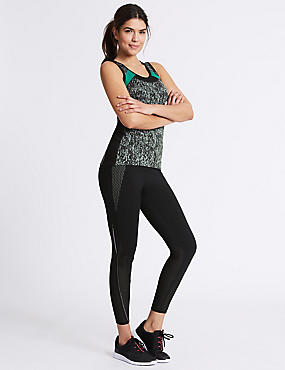 Light As Air Sport Leggings, BLACK MIX, catlanding