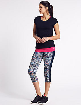 Quick Dry Printed Leggings