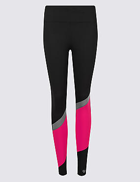 Active Asymmetric Print Leggings