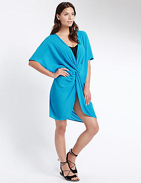 Knot Front Kaftan with Cool Comfort™ Technology