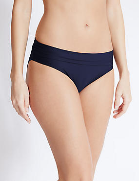Roll-on Hipster Bikini Bottoms