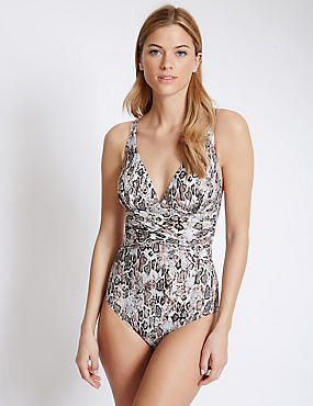 Swimsculpt™ Animal Print Swimsuit