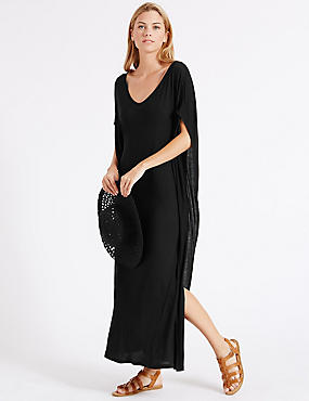 Womens Beach Cover Ups &amp Kaftans  Ladies Harem Trousers  M&ampS