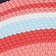 Striped Plunge Bikini Top, PINK MIX, swatch