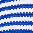 Striped Plunge Bikini Top, BLUE MIX, swatch