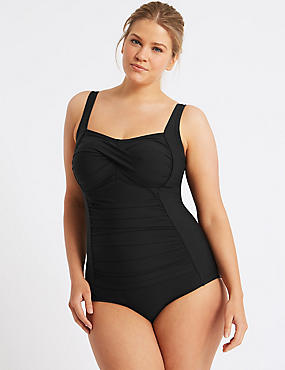 PLUS Secret Slimming™ Bandeau Swimsuit