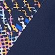 PLUS Secret Slimming™ Printed Swimsuit, NAVY MIX, swatch