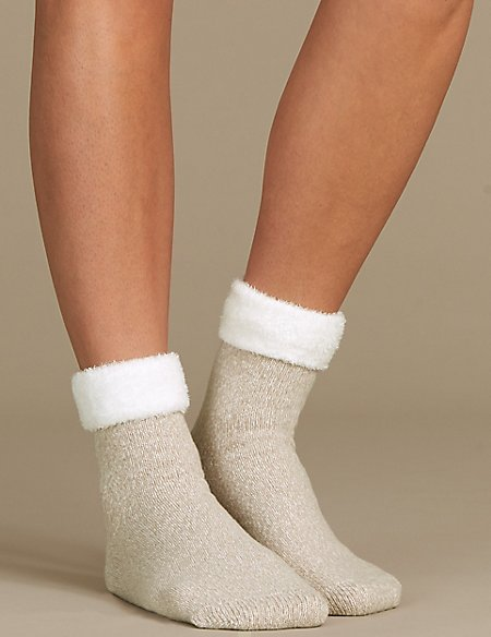 Ankle High Slipper Socks
