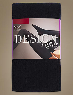 Cotton Rich Heavyweight Opaque Tights