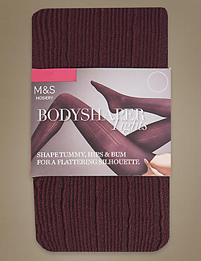 Secret Slimming™ Ribbed Tights