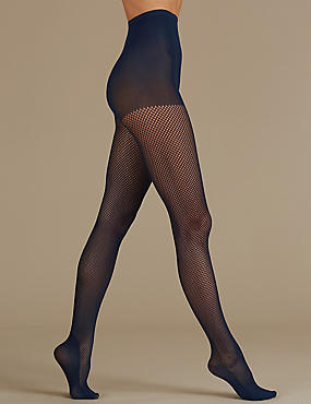 Secret Slimming™ Body Shaper Tights , NAVY, catlanding