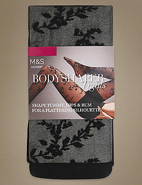 Secret Slimming™ Floral Bodyshaper Tights
