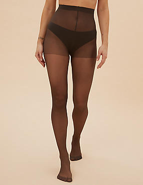 5 Pair Pack 15 Denier Ladder Resist Matt Tights