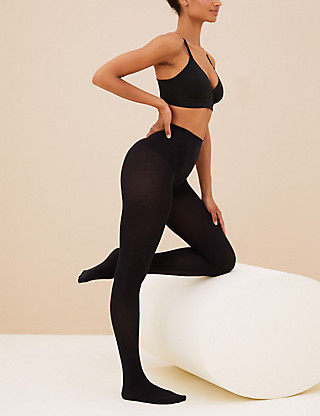100 Denier Heatgen™ Opaque Tights Clothing