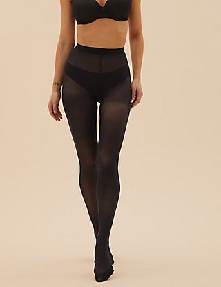 3 Pair Pack 30 Denier Body Sensor™ Opaque Tights Clothing