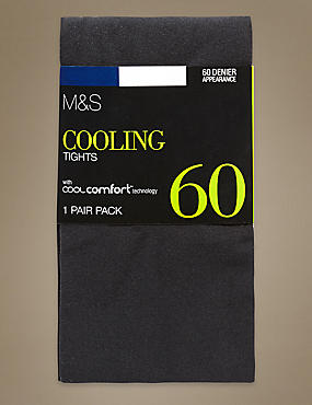60 Denier Cool Comfort™ Opaque Tights