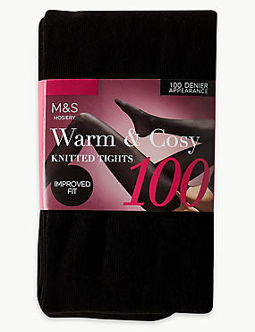 100 Denier Heavyweight Supersoft Opaque Tights