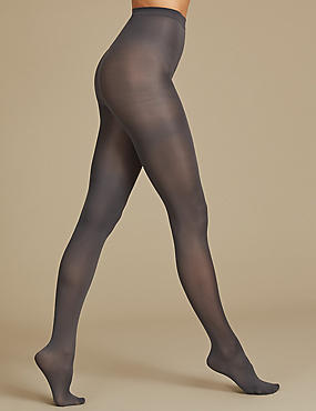 3 Pair Pack 40 Denier Supersoft Opaque Tights
