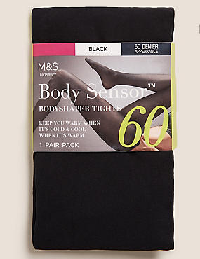 60 Denier Light Control Body Shaper Opaque Tights