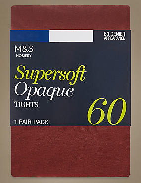 60 Denier Supersoft Opaque Tights