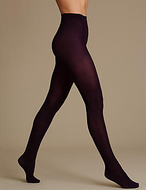 60 Denier Tweed Marl Opaque Tights 1 Pair Pack