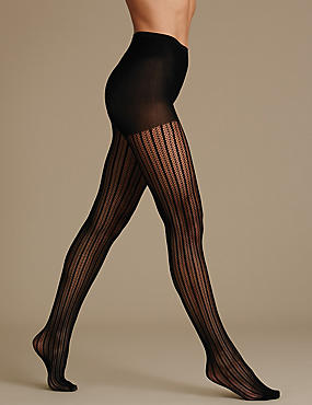 Secret Slimming™ Stripe Bodyshaper Tights