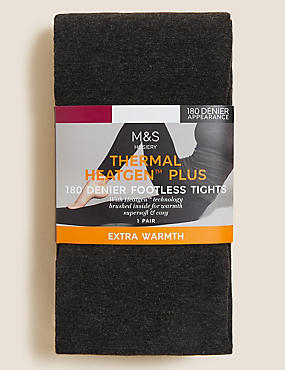 180 Denier Heatgen™ Plus Brushed Thermal Opaque Tights