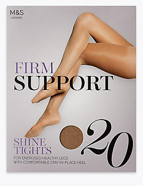 20 Denier Firm Support Tights, ILLUSION, catlanding