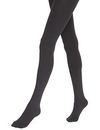 100 Denier Velvet Touch Opaque Tights Clothing