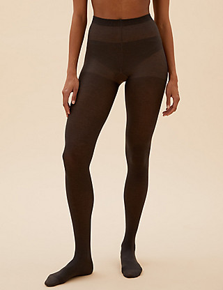 40 Denier Fine Cotton Tights Clothing