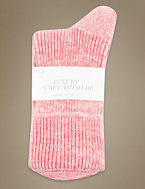 Luxury Pure Cashmere Heavyweight Ankle Socks