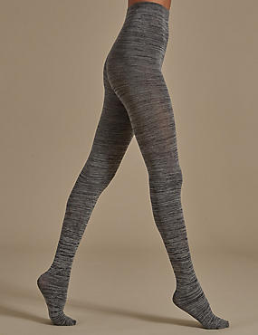 100 Denier Space Dye Tights