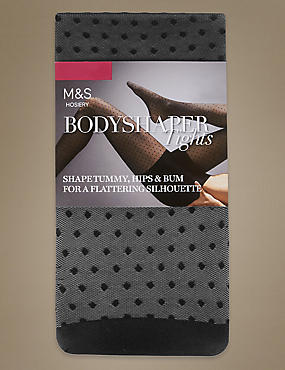 Secret Slimming™ Spot Mesh Tights