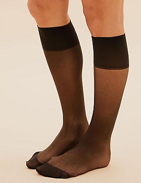 3 Pair Pack Ladder Resist Matt Knee Highs